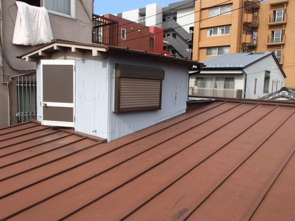 江東区 I邸 屋根塗装